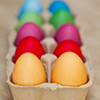 Colorful Easter Eggs Jigsaw