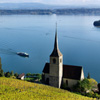 Lake And Church Jigsaw
