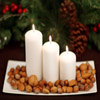 Nutty Candles