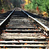 Railroad Tracks Jigsaw