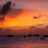 Ships At Sunset Jigsaw