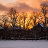 Sunset In Winter Jigsaw