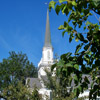 White Wooden Church Jigsaw