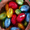 Wrapped Easter Eggs Jigsaw